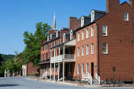 John Brown Museum and surrounding store fronts in Harpers Ferry National Historical Park, Harpers Ferry, West Virginia, are owned and operated by the U.S. National Park Service.