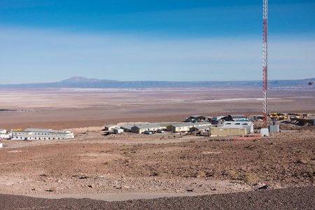 alma: Looking out from the ALMA Operations Support Facility OSF over the high Atacama desert. Atacama Large Millimetersubmillimeter Array.