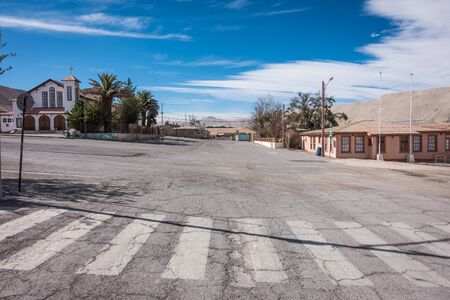 mining town: Empty streets in the former mining town of Chuquicamata, which has been abandoned since 2007.