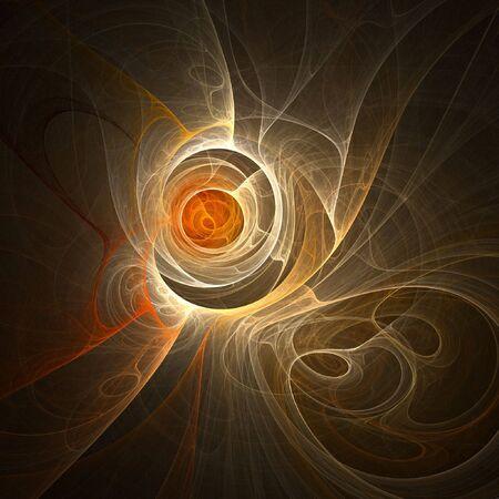 ray trace: agujero del caos del fuego