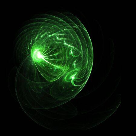myst: fantasy rays spiral  Stock Photo