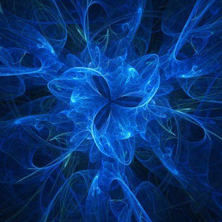pipe dream: fondo azul marino abstracto del caos del calabozo Foto de archivo