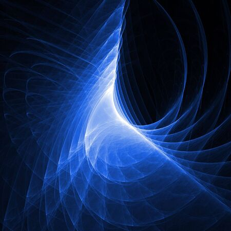 free background: abstract dark blue chaos rays on dark background