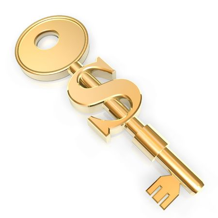 golden key to open success on business