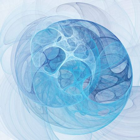 abstract chaos blue rays technology background Stock Photo - 1194539