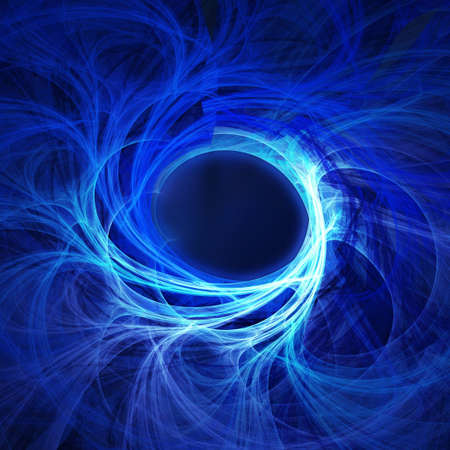 abstract chaos blue rays technology background Stock Photo - 1194540