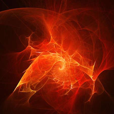 ray trace: Resumen caos fuego rayos sobre fondo oscuro Foto de archivo