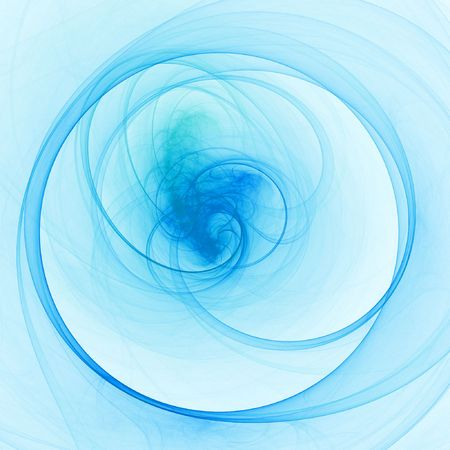 abstract chaos cloud ring on bright background Stock Photo - 1334160