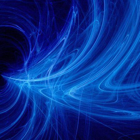 abstract chaos power smoke ray on dark background photo