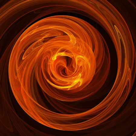 abstract chaos fire rays twirl on dark background Stock Photo - 1694653