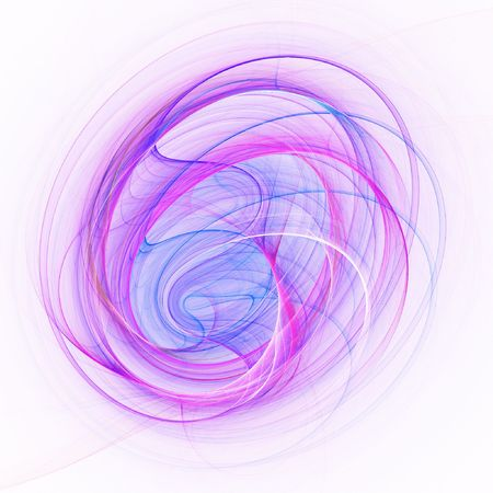 abstract chaos frame wheel spiral on white background photo