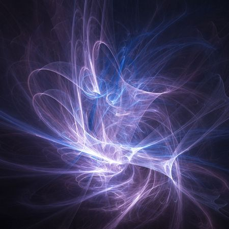 abstract chaos silk rays burst on dark background Stock Photo - 2206583