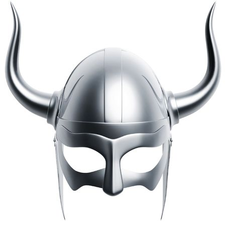 spartan: 3d silver helmet isolated on white background