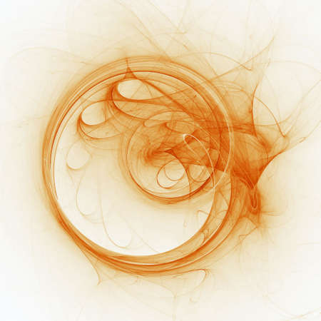 fumes: abstract colorful fume circle rays on dark background Stock Photo