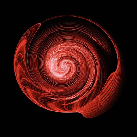 abstract chaos swirl rays on dark background Stock Photo - 3027160