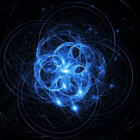 purgatory: chaos hell star field on dark background