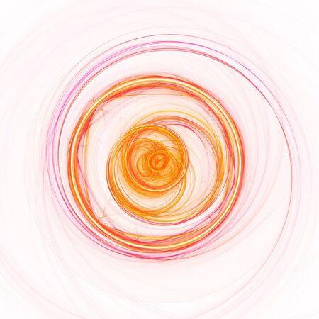 fate: spiral wheel of fate on dark background