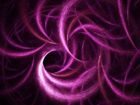 spiral rays group on dark black background