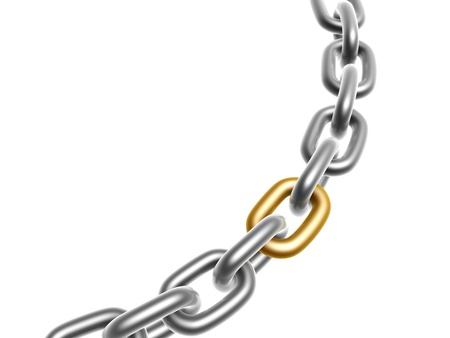 special steel: Solution, Chain with one golden link