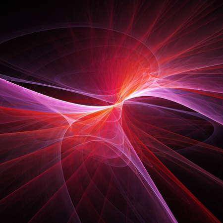 splendid: soft feather splendid ray on dark background