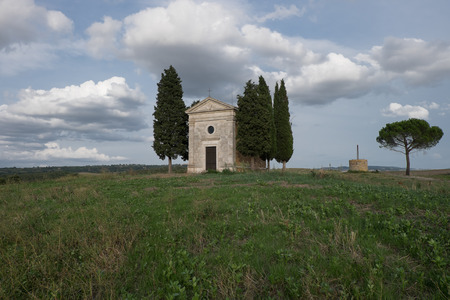 cappella: The chapel of Our Lady of Vitaleta