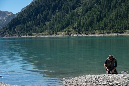 The basin of Meggima in Selva dei Molini offers excellent fishing on large trout with the fly,