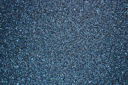 Sparkling blue glitter background. Stock Photo