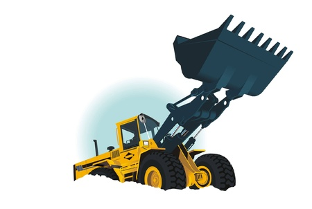dozer: Loader Illustration