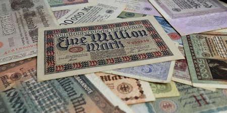 geld: Eine Million Reichsmark Editorial