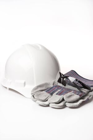 personal protective equipment: personal protective equipment hardhat Stock Photo