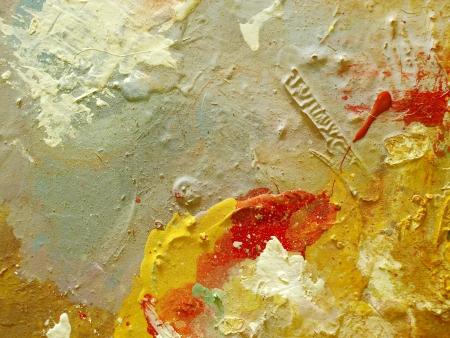 Oil paint pallete Stock Photo - 17757813