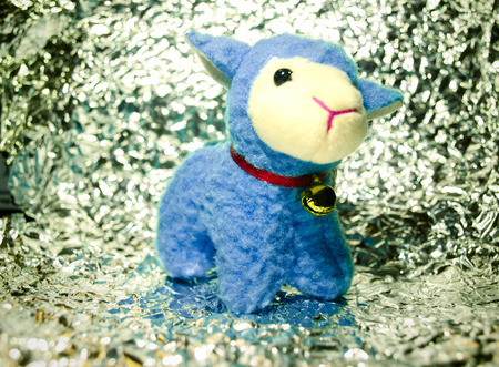 Blue Sheep Stock Photo