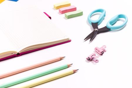 kids school supplies pencils scissors paper