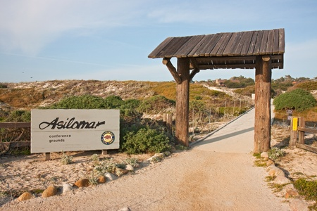 ASILOMAR, CALIFORNIA - MARCH 17: The entrance to Asilomar State Park and Conference Grounds on March 17, 2011. A U.S. biosecurity panel may call for an Asilomar-style moratorium on publications relating to the H5N1 bird flu. This refers to a meeting of sc