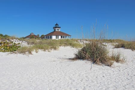 The Port Boca Grande Lighthouse and assistant keeper