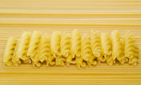 Some pasta and spaghetti Stock Photo