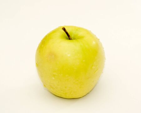 Sweet yellow apple