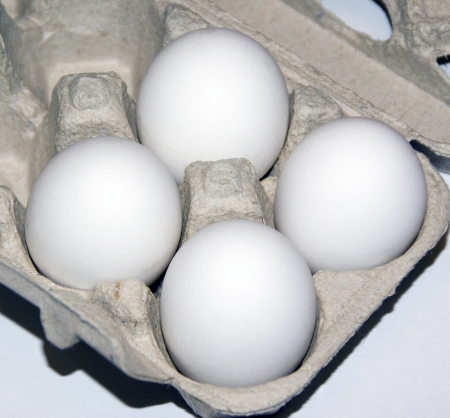 Some eggs Stock Photo