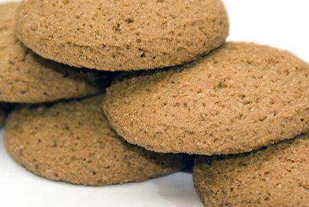 Some oatmeal cookies Stock Photo - 16935701
