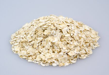A handful of oats Stock Photo