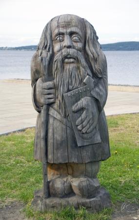 pohanský: Dřevěné pohanský idol