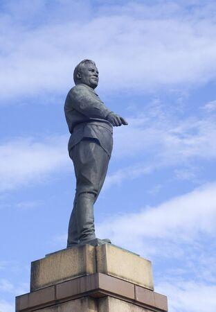 kirov: The statue of S Kirov