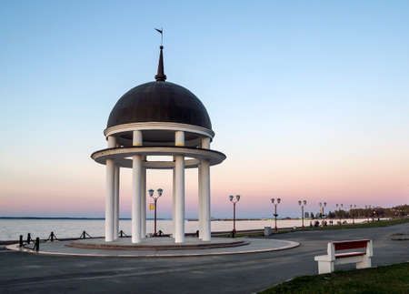 Rotunda at sunset  Stock Photo