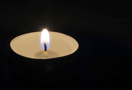 lonelyness: Lonely candle in the dark
