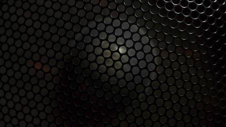 Background of fan lattice Stock Photo