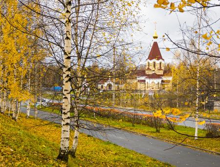 panteleimon: Panteleimon church in autumn