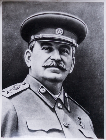 Old photo of Stalin