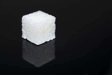 sugar cube: Sugar cube Stock Photo