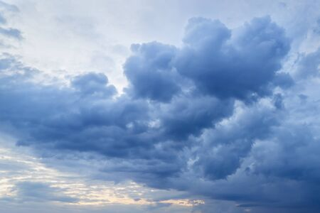 skyscapes: Clouds on sky Stock Photo