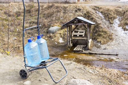 fetch: Fetch water at the spring
